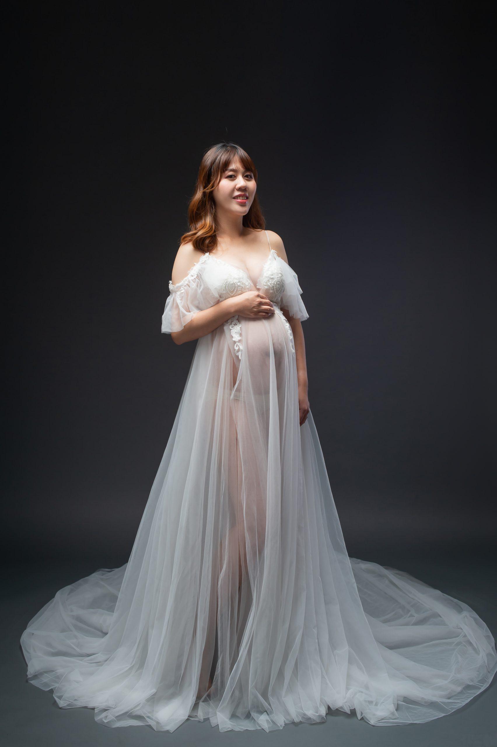 孕婦寫真禮服