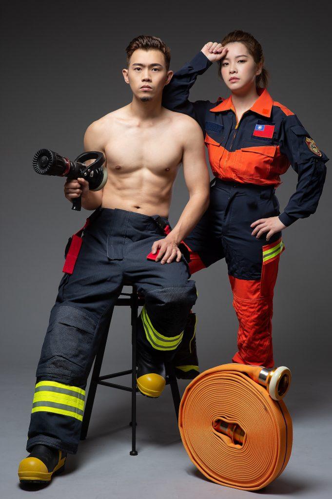 消防員形象照